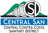 Central San Logo Color Stack