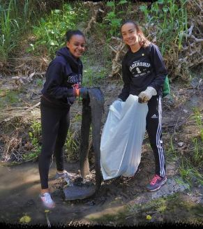 Friends of Creeks cleanup day 2017